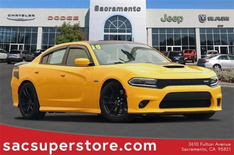 Certified Pre-Owned 2018 Dodge Charger R/T 392 RWD 4D Sedan