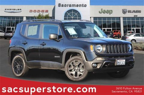 Certified Pre-Owned 2018 Jeep Renegade Sport 4WD 4D Sport Utility