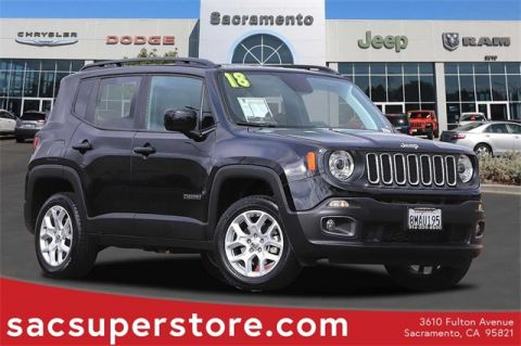 Certified Pre-Owned 2018 Jeep Renegade Latitude 4WD 4D Sport Utility